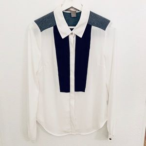 NWOT Forever21 Button Down Blouse